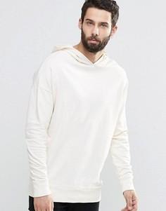 Свитшот с заниженной линией плеч Only & Sons - Белый