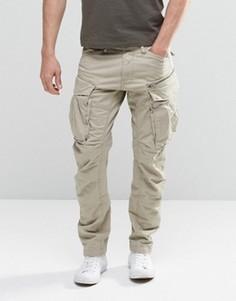 Суженные брюки карго с молниями G-Star Rovic 3D - Бежевый