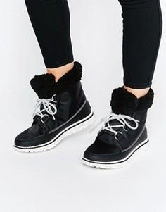 Ботильоны на шнуровке Sorel Cozy Carnival - Черный