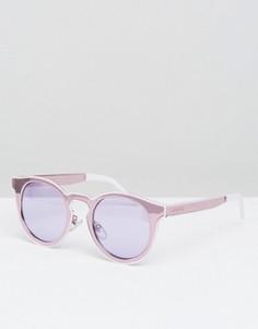 Круглые солнцезащитные очки с зеркальными стеклами Minkpink Sweet Nothing - Розовый