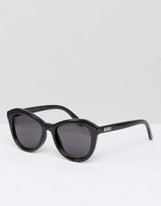 Круглые солнцезащитные очки Le Specs - Черный