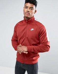 Красная спортивная куртка Nike Tribute 678626-675 - Красный