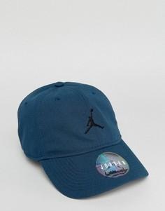 Синяя кепка Nike Jordan H86 847143-454 - Темно-синий