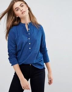 Рубашка с длинными рукавами M.i.H Jeans - Синий