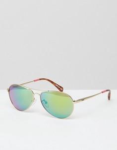 Солнцезащитные очки‑авиаторы Toms Kilgore - Золотой
