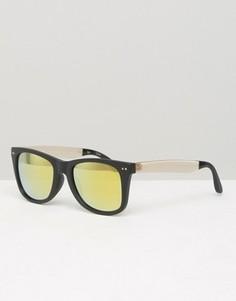 Квадратные солнцезащитные очки Toms Windward - Черный