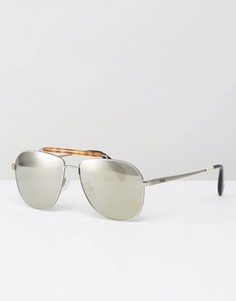 Солнцезащитные очки-авиаторы Toms Booker - Серебряный