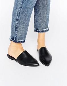Черные кожаные сандалии Vagabond Katlin - Черный