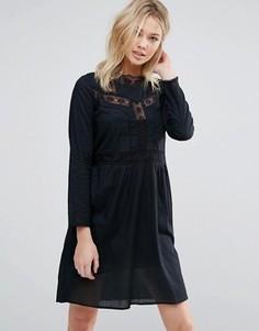 Свободное платье с вышивкой d.RA Farrah - Черный