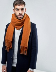 Оранжевый шарф-накидка ASOS - Оранжевый