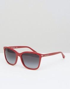 Солнцезащитные очки Emporio Armani - Красный