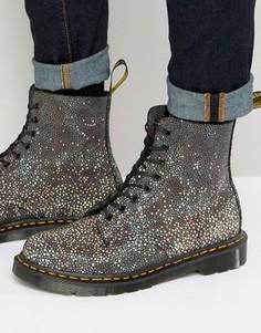 Ботинки с 8 парами люверсов Dr Martens Made In England Pascal - Черный