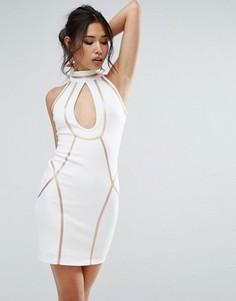 Платье мини Rare - Белый