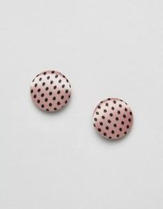 Серьги-гвоздики ASOS - Розовый