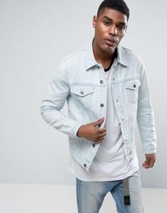 Светлая джинсовая куртка ASOS - Синий