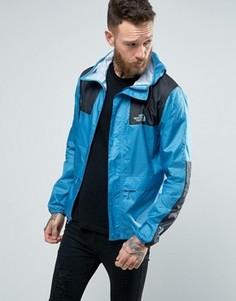 Голубая куртка с капюшоном The North Face 1985 - Синий