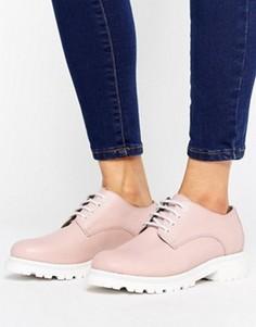 Кожаные туфли на высоком каблуке H by Hudson - Бежевый