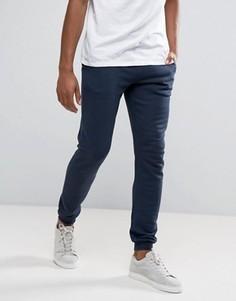 Темно-синие узкие спортивные брюки Farah Shalden - Темно-синий
