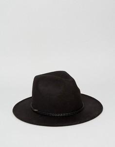 Шляпа-федора 7X - Черный