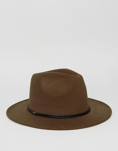 Шляпа-федора 7X - Зеленый