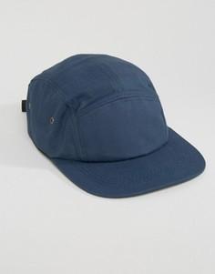 5-панельная кепка 7X - Темно-синий
