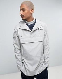 Светло-серая водонепроницаемая куртка Rains - Серый