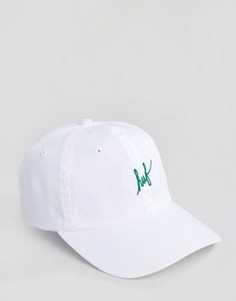 Бейсболка с логотипом HUF - Белый
