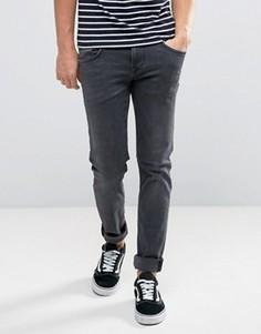 Темные узкие джинсы Pepe Jeans Finsbury - Синий