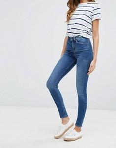 Супероблегающие джинсы с завышенной талией Jack Will Fernhman - Синий