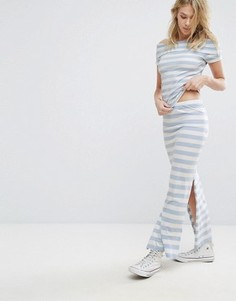 Комбинируемая юбка макси с разрезом Only Abbie - Мульти