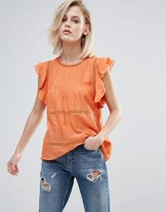 Топ без рукавов Pepe Jeans Hanna - Оранжевый