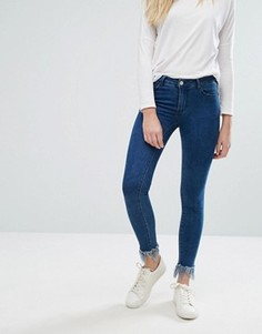 Потертые джинсы Vila - Синий