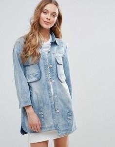Джинсовая куртка QED London - Синий