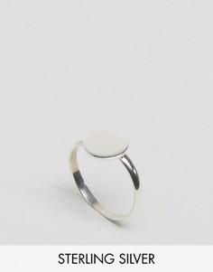 Серебряное кольцо с диском Kingsley Ryan - Серебряный