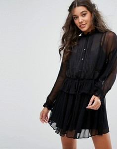 Платье мини Stevie May Passing By - Черный