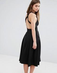 Платье миди с карманами Oeurve - Черный Oeuvre