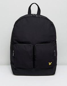 Черный рюкзак Lyle & Scott - Черный