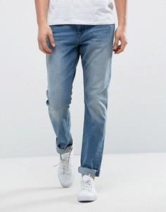 Рваные джинсы слим Only & Sons - Синий