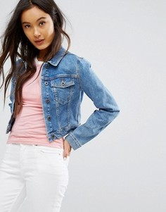 Короткая джинсовая куртка Jack Wills - Темно-синий