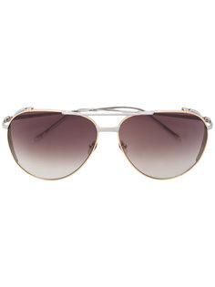 солнцезащитные очки-авиаторы Linda Farrow