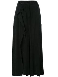 брюки палаццо с высокой талией Isabel Benenato