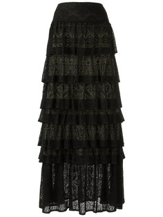 ruffled maxi skirt Cecilia Prado