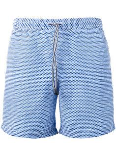 шорты для плавания с цветочным принтом Fay