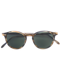 солнцезащитные очки в круглой оправе Pantos Paris