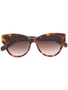 """солнцезащитные очки в оправе """"кошачий глаз"""" Saint Laurent"""