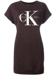 платье-футболка с логотипом  Calvin Klein Jeans