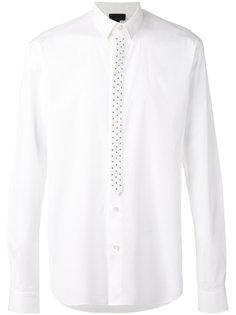 рубашка с заклепками Les Hommes