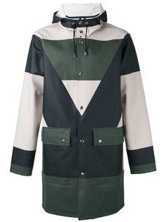 colour block coat  Henrik Vibskov