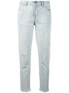 cropped boyfriend jeans Just Female