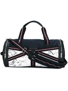 three-tone canvas duffle bag Dior Homme